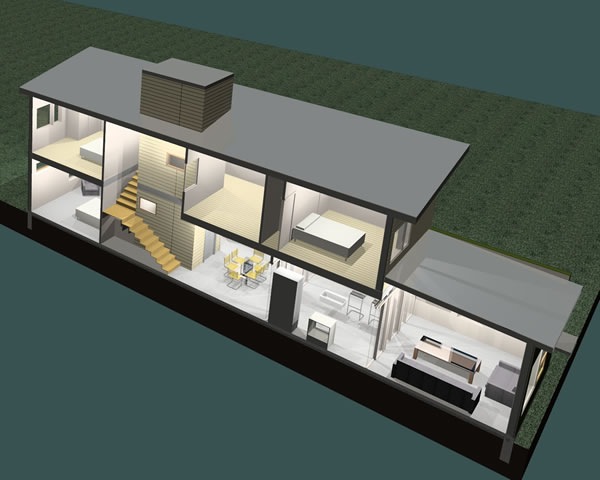 Modern Home Design Green Housing Kits